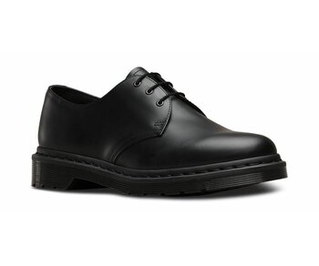 Dr. Martens 3 Loch 1461 Black Mono Smooth 14345001