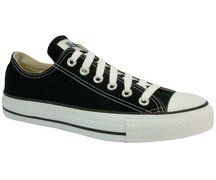 Original Converse Ox Schwarz Chuck Taylor All Star M9166...