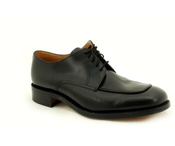 Loake 5 Eye Black Polished Shoe