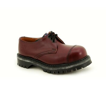 NPS Shoes LTD Premium Ranger Made in England Oxblood 3 Eye Steelcap Shoe