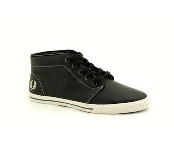 Fred Perry Fletcher Black Leather  EUR 45 (UK10)