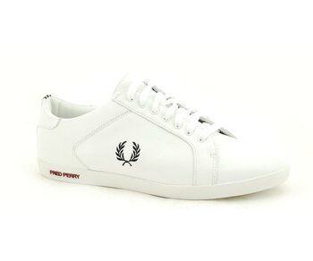 Fred Perry White Earl Leather EUR 45 (UK10)