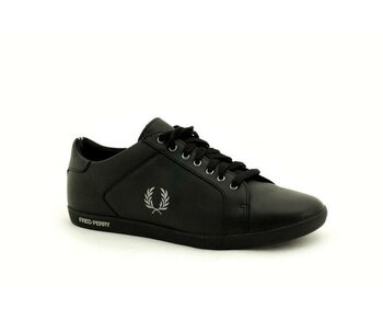 Fred Perry Black Earl Leather EUR 45 (UK10)