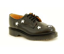 Solovair NPS Shoes Made in England 4 Eye Star Shoe...