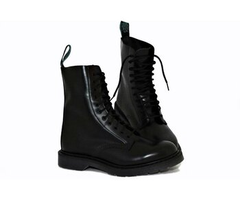 Solovair NPS Shoes Made in England 11 Loch Black Boot