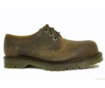 Solovair NPS Shoes Made in England 3 Eye Gaucho Steelcap...