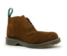 Solovair NPS Shoes Made in England 2 Loch Chukka Rust...