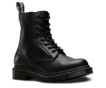 Dr. Martens 8 Loch 1460 Black Monochrome Virginia