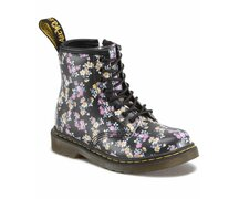 Dr. Martens Kids 8 Loch Brooklee Black Mini Tydee