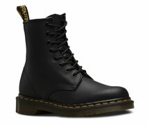 Dr. Martens 8 Loch 1460 Black Greasy 11822003 Eur 43 (UK9)
