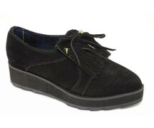 T.U.K.Creeper V7757 Black Action Leather Mondo Low Round