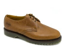 Solovair NPS Shoes Made in England 3 Loch Brown Pull Up...