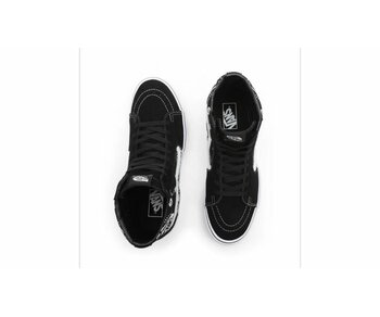 Vans Sk8-Hi Bandana Black True White a
