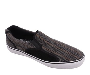 Draven Slip On Herringbone 45