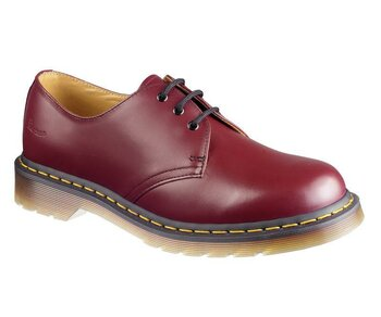 Dr. Martens 3 Loch 1461 Cherry Red Smooth Eur 47 (UK12)