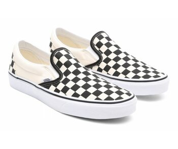 6fa0ab03e7 Vans Classic Slip-Ons black white
