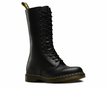 Dr. Martens 14 Loch 1914 Black Smooth 11855001 Eur 47 (UK12)