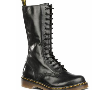 Dr. Martens 14 Loch 1B99 Black Buttero 11820007 Eur 36 (UK3)