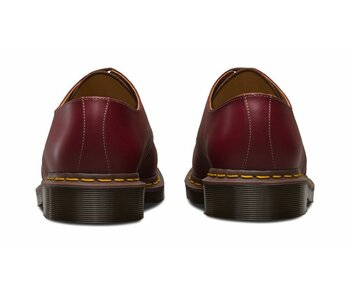 Dr. Martens 3 Loch 1461 Oxblood Vintage Quilon Made in England