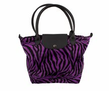 Design Bag Zebra Purple